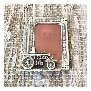 vintage new CURRIER & IVES steampunk picture frame